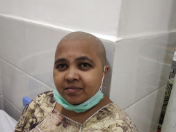 Help Padma suffering from Blood Cancer