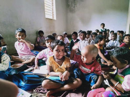 help for small kids their dreams and better education.