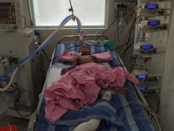 Help 2-year-old, JASHWIK for his lung infection treatment