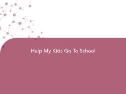 Help My Kids Go To School