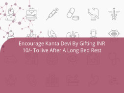 Encourage Kanta Devi By Gifting INR 10/- To live After A Long Bed Rest
