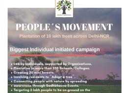 Help Plant 10 Lakh Trees in Delhi-NCR