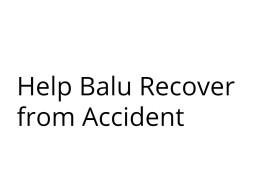 Help Balu recover