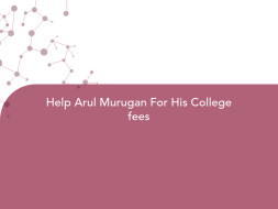 Help Arul Murugan For His College fees