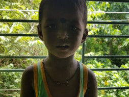DAUGHTERS.ILLTREATED BY FAMILY SUFFERING FROM MALNUTRITION AND DAMAGE