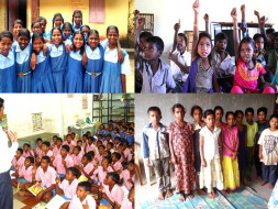 Best Education Support of Tribal Child's