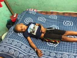 Help 7 year old Atish fight Cancer with 5 months pregnant mother