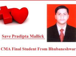 DONATE FOR PADIPTA MALLICK CMA FINAL YEAR STUDENT, BHUBANESWAR