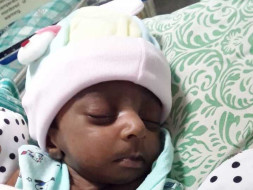 Help 23 days old Sheeba's Baby - Congenital Heart Disease and Abdomine