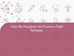 Help My Daughter Sai Prasanna Fight Epilepsy.