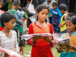 New Clothes for Street Children in Durgapuja-2019