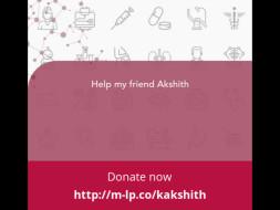 Help my friend Akshith