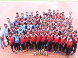 An Olympic medal dream by an Athletic club in Kerala,  India.