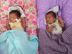 Please Help Twin Babies and Their Mother