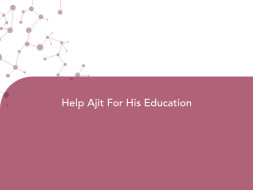 Help Ajit For His Education