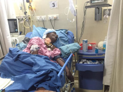 Help My Friends Father To Fight Brain Hemorrhage, Due To Accident
