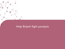 Help Brijesh fight paralysis