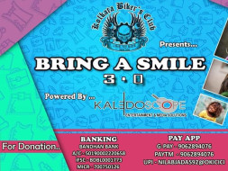 Bring A Smile to homeless children in this puja