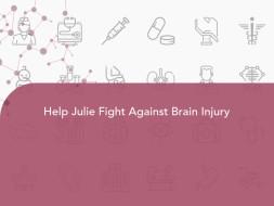 Help Julie Fight Against Brain Injury