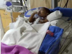 Help Ahnaf for his little heart