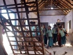 Help to reconstruct the burnt school