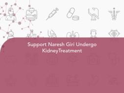 Support Naresh Giri Undergo KidneyTreatment