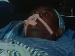 63 years old J.Asoph needs your help fight Road traffic accident with polytrauma