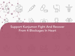Support Kunjumon Fight And Recover From 4 Blockages In Heart
