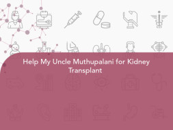 Help My Uncle Muthupalani for Kidney Transplant