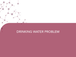 DRINKING WATER PROBLEM