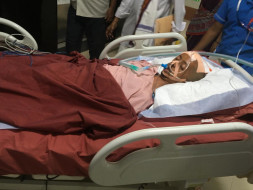 Support Mahesh Babu Govindula today to recover from an accident!