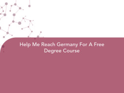 Help Me Reach Germany For A Free Degree Course