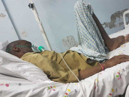 56 Years Old Venkata Krishna Reddy Needs Your Help Fight Lung Cancer