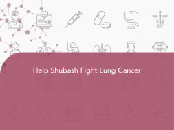 Help Shubash Fight Lung Cancer
