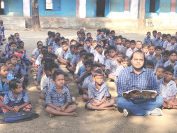 Help Tribal Kids To Learn And Practice Organic Farming