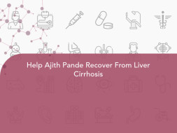 Help Ajith Pande Recover From Liver Cirrhosis