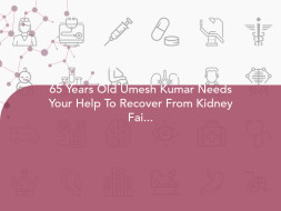 65 Years Old Umesh Kumar Needs Your Help To Recover From Kidney Failure