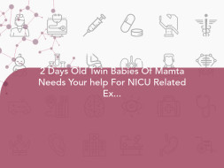 2 Days Old Twin Babies Of Mamta Needs Your help For NICU Related Expenses