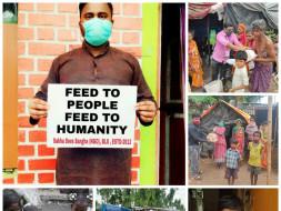 Covid-19 relief program at Odisha-Balasore