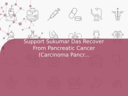 Support Sukumar Das Recover From Pancreatic Cancer (Carcinoma Pancreas)