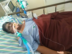 56 Years Old Mangilipally Ashok Needs Your Help Fight Viral Infection