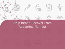 Help Rebati Recover From Abdominal Tumour