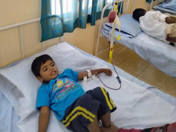 4 years old SHAIK MUHAMMAD REHAN needs your help fight Thalassemia major