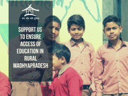 Support to ensure quality education for 1000 children from rural MP