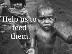 Help Us To Feed The Poor