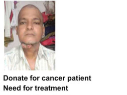 Support ABHAY SINGH (Mumbai Taxi Driver) Fighting for Cancer Treatment