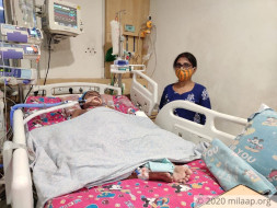 Support Soumaalya Nandy Recover From Picu