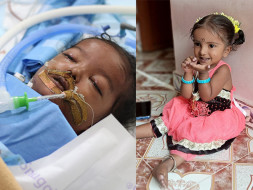 Help my 2 years old daughter to fight Heart Problem -ECMO Care