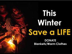 Support Warm Cloths this winter unprivileged children & Old Age .