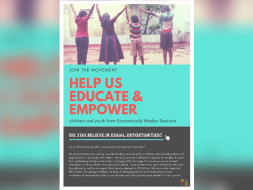 Help us Educate & Empower children and youth